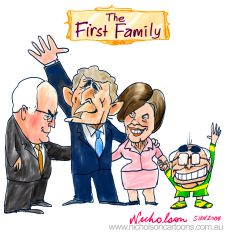 Howard Bush First Family