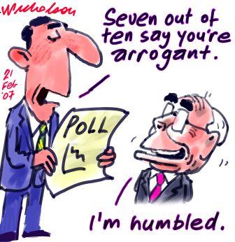 Howard arrogant