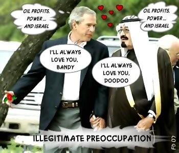 True Love of Oil, Profits and Israel