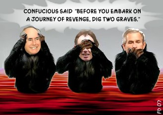 Three Monkeys of the Apocalypse