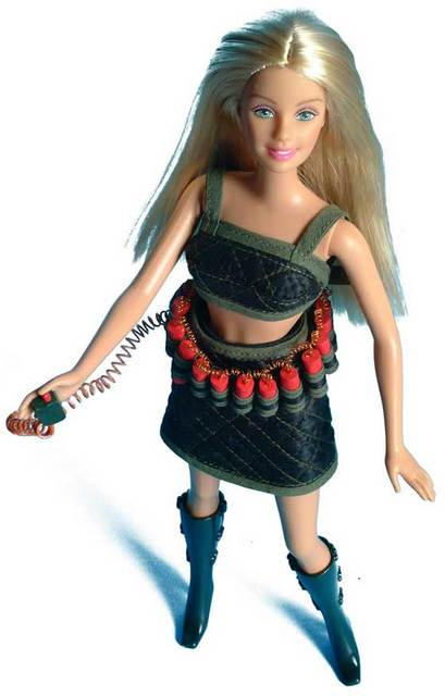 United Stupids Suicide bomber barbie