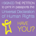 Universal Declaration of Human Rights Petition