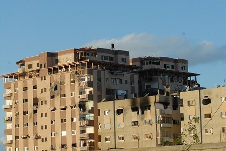Bombed Building Gaza 09