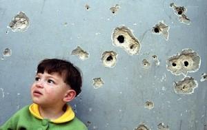Children live with Israeli bullets in Palestine