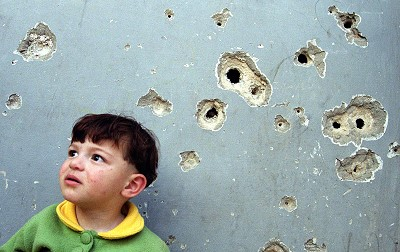 Children live with Israeli bullets in Palestine