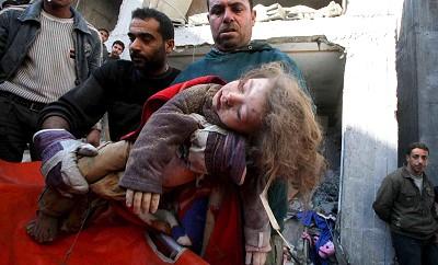 Gaza Child killed by Israel