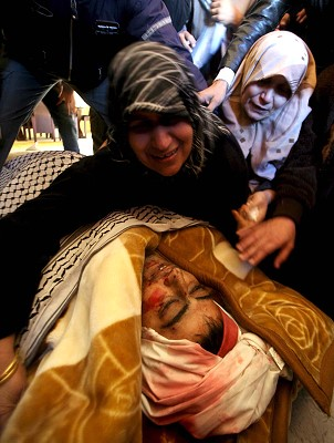 Israel causes deaths in Gaza