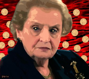 Madeleine Albright - The Price Is Ongoing