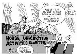 Unchristian committee