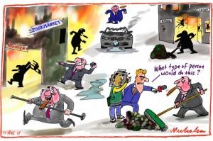 Stockmarket Crash Cleanup