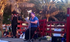Emma Rosenthal Speaks at Macarthur Park