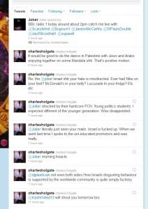 Charles Holgate has a clue