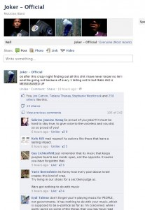 Joker Facebook Official Cancellation