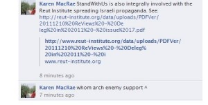 On Arch Enemy's Facebook Wall