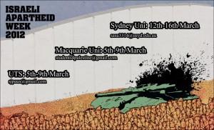 Israel Apartheid Week 2012 Australia