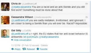 Zionists threaten Cassandra Wilson