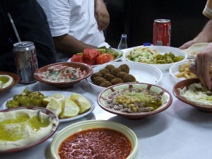 Palestinian Meal with Spices