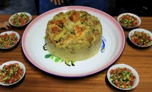 Makloubeh - Palestinian Food