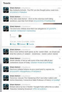 Atzmon attacks Electronic Intifada