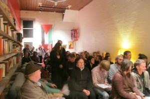 Packed meeting to hear Vardi and Kurz