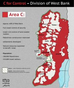 Israel's control of Area C