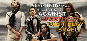Don't Play Israel, The Killers