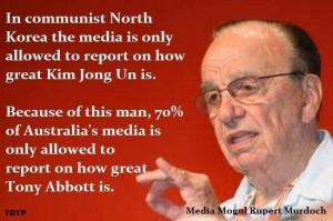 Murdoch media control