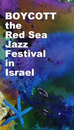 Boycott the Red Sea Jazz Festival in Israel