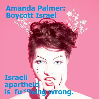 Don't Play Apartheid Israel, Amanda Palmer