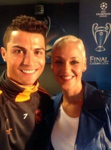 Cristiano Ronaldo & Mariza