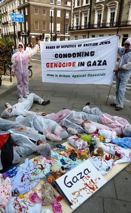 British Jews Against Genocide Protest