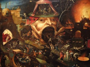 "Hieronymus Bosch- - '""A Violent Forcing Of The Frog."""