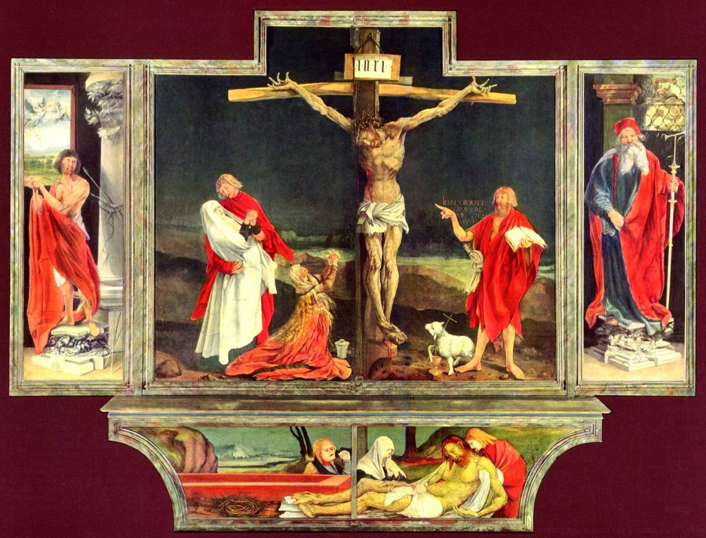 Isenheim Altarpiece at Colmar - Niclaus of Haguenau and Matthias Grünewald 1512–1516